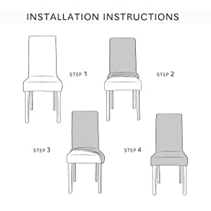 Steps to Install Chair Cover