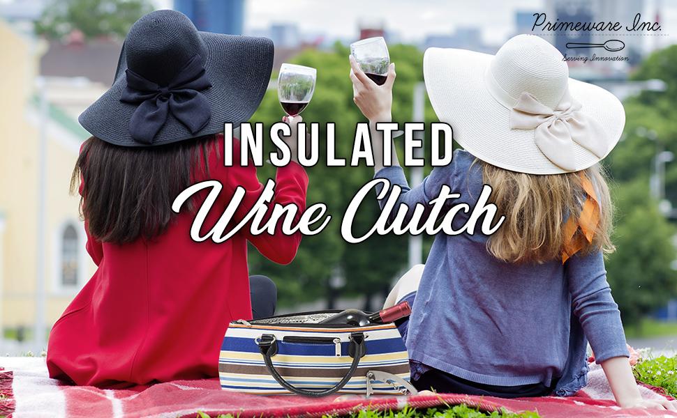 wine clutch primeware primeware inc insulated wine clutch purse drink purse