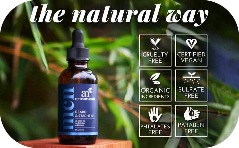 beard oil natural cruelty free argan oil jojoba carrier oil soften smooth soft softer