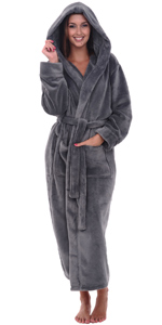 womens hooded robe