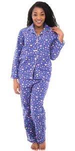 womens flannel pajamas