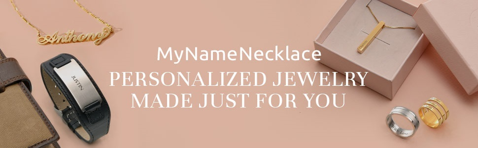 MyNameNecklace Personalized Name Necklace-Custom Pendant - Gift for Her