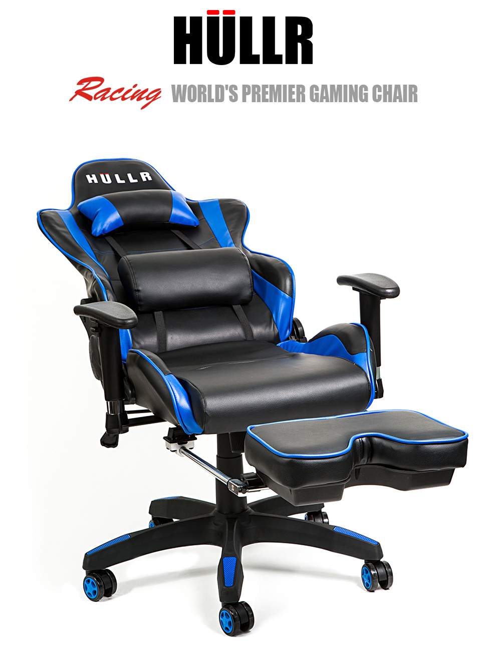 HULLR Gaming Racing Computer Office Chair With Foot Rest Executive High Back Ergonomic Reclining Design With Detachable Lumbar Backrest u0026 Headrest (PC PS4 ...  sc 1 st  Amazon.com & Amazon.com: HULLR Gaming Racing Computer Office Chair With Foot ... islam-shia.org