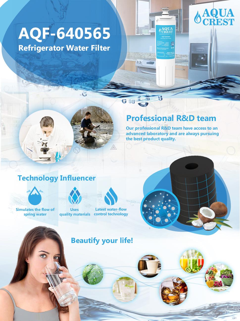 Amazon Com Aquacrest 640565 Refrigerator Water Filter