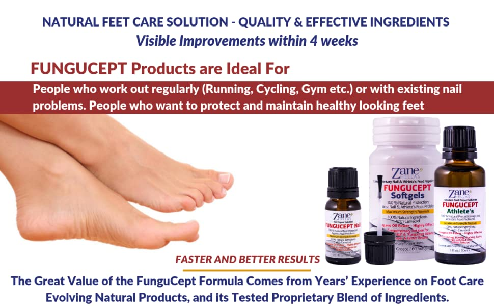 Fungucept range of products