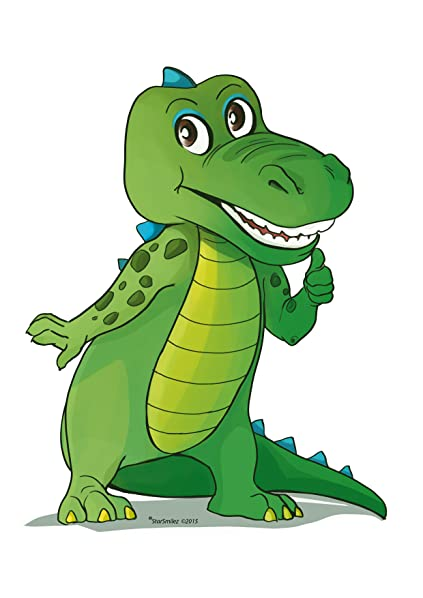 Amazon.com: Kids Alligator educativo felpa & cepillo para ...