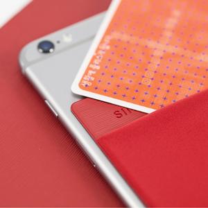 Sinji Pouch Card Holder Red