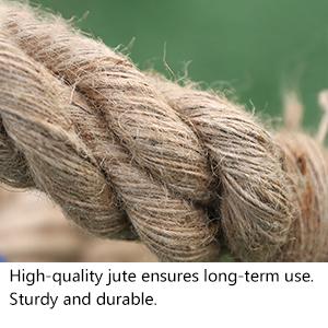 sisal Manila large organic thick roping cord natural decor soft outdoor diy brown heavy garden