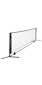 Portable Driveway Tennis Net