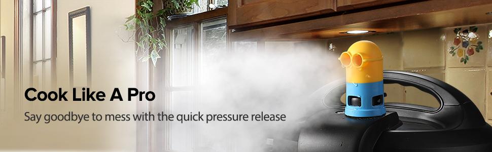 Steam diveter instant pot