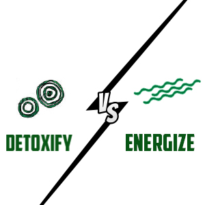 Detoxify vs energize