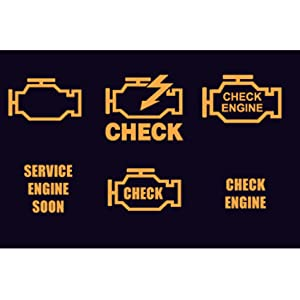 Check why the Check Engine Light is on