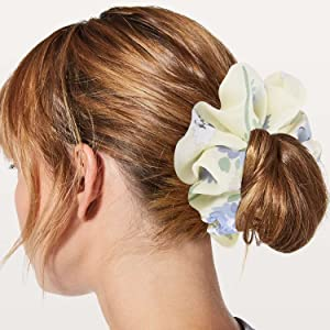 Women's Chiffon Flower Hair Scrunchies