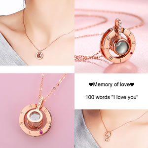 memory of love necklace