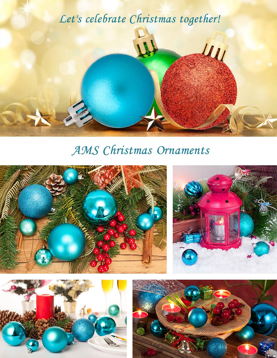 ams 40mm christmas balls