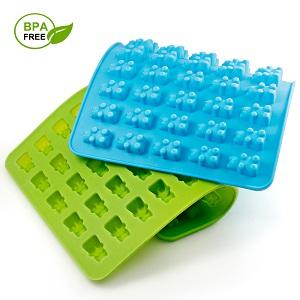 Amazon.com: Candy Silicone Molds & Ice Cube Trays, SENHAI