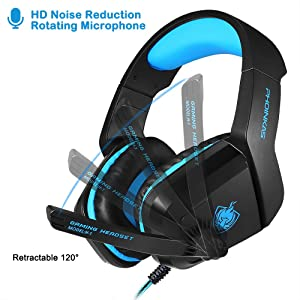 computer headset with mic