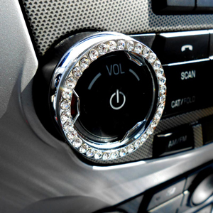 DIY Car Bling Accessories For Auto Buttons Knobs More