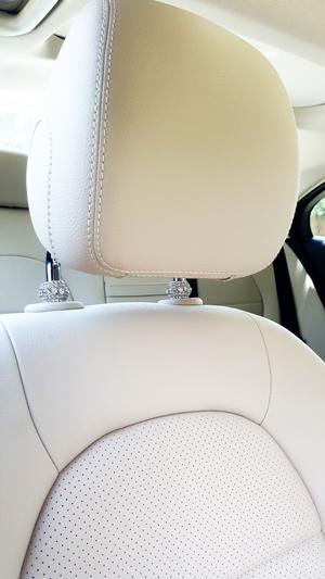 Icy Crystal Car Seat Headrest Charms