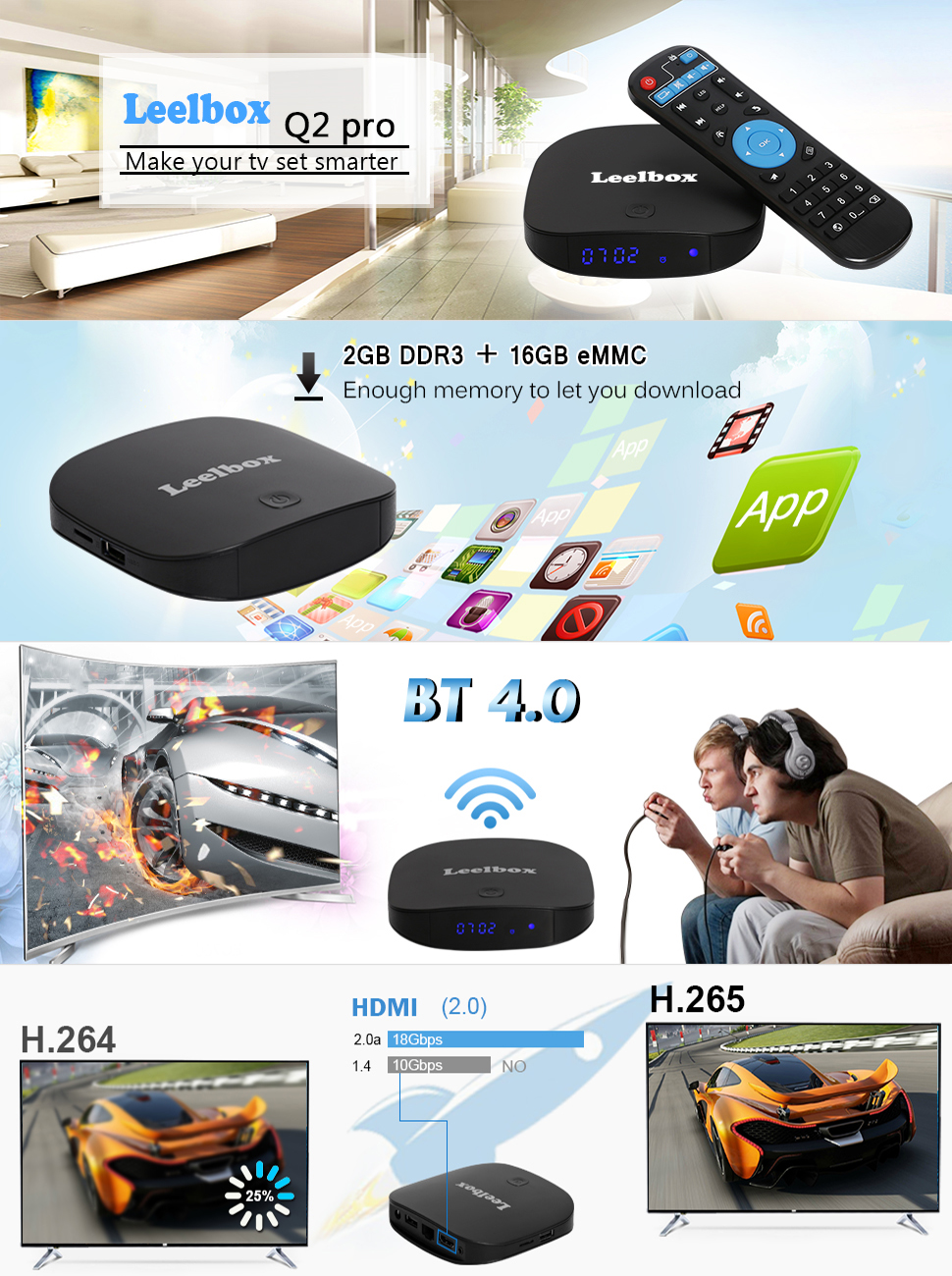 q2 pro android tv box