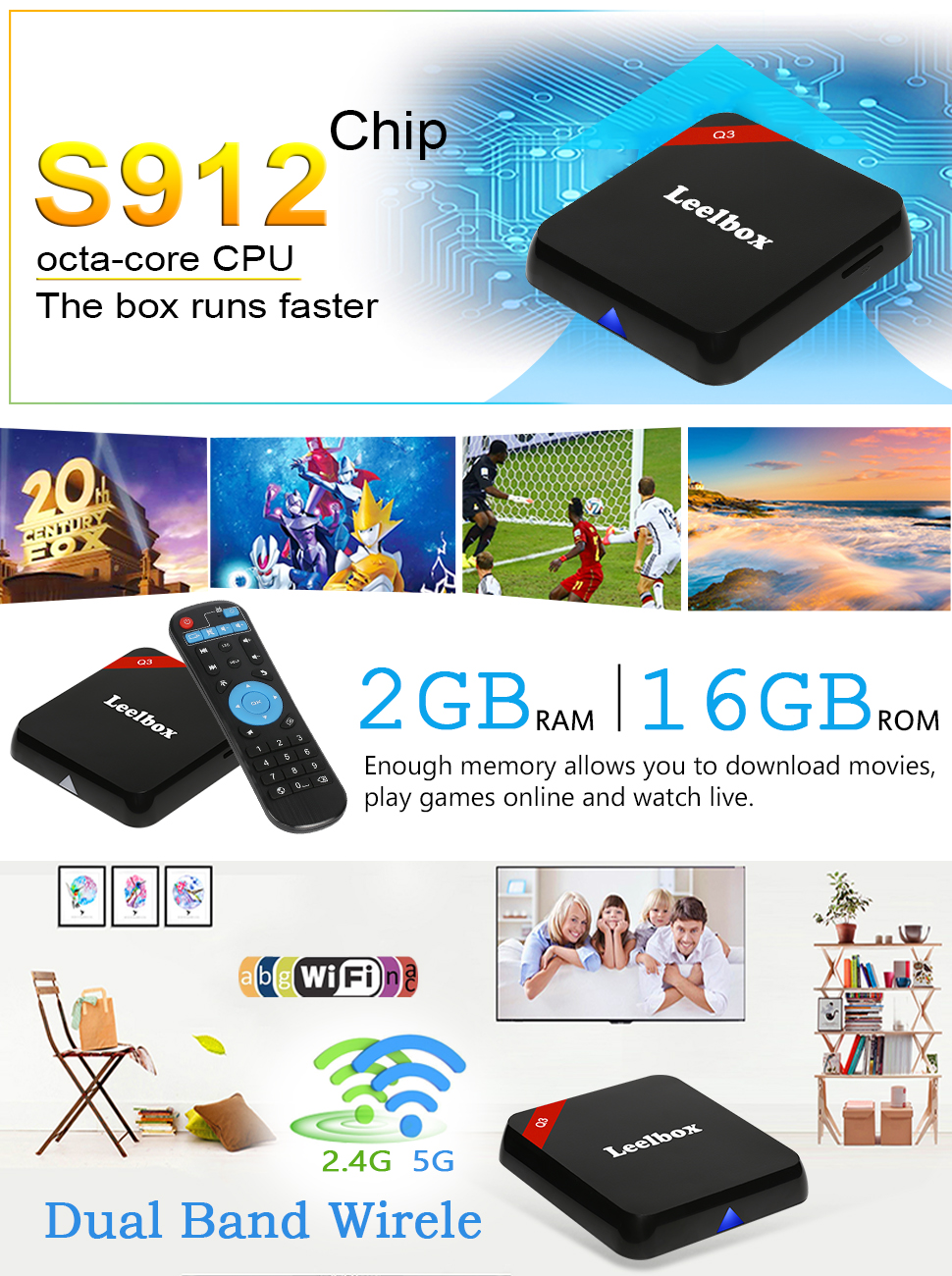 q3 android tv box
