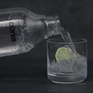 fill glass with water