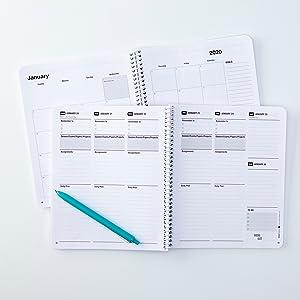 Amazon.com: Ultimate estudiante planificador, Negro: Office ...