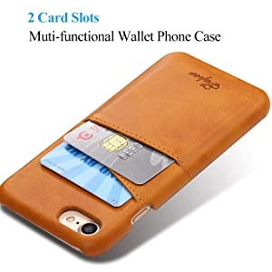iphone 6s plus cover with card slot holder