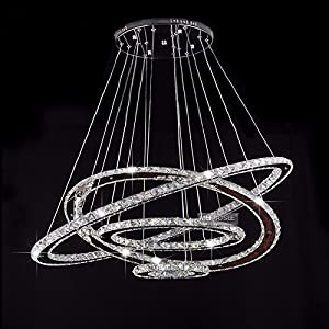Meerosee crystal chandeliers modern led ceiling lights fixtures crystal modern chandeliers lighting led ceiling lights pendant lights fixtures mozeypictures Image collections