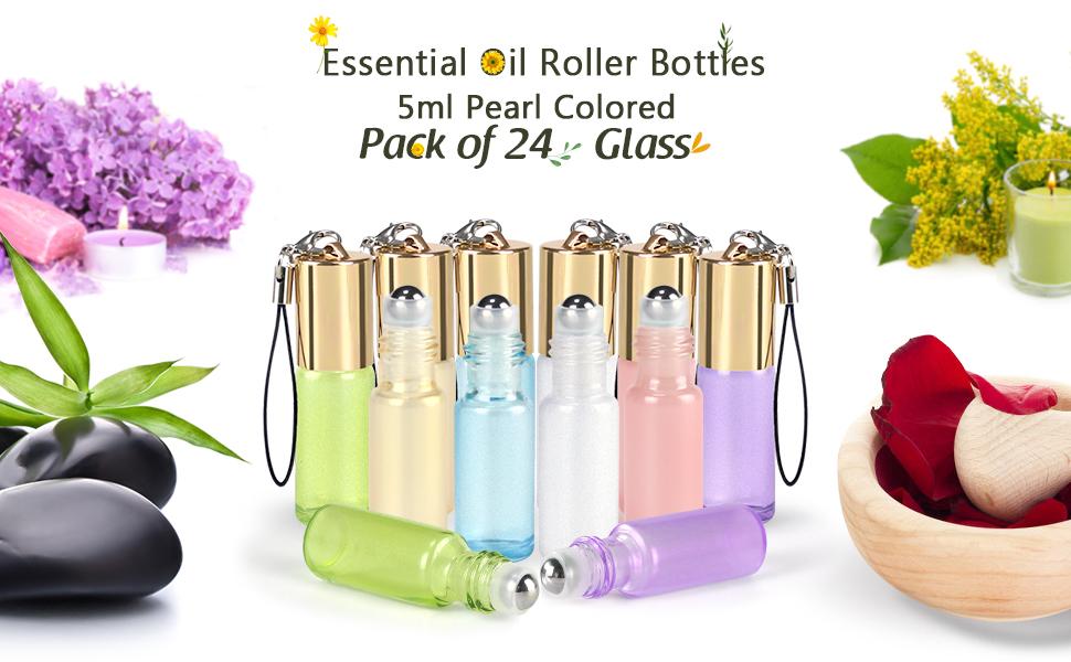 5ml Essential Oil Roller Bottles