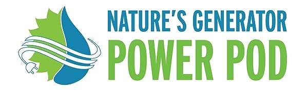 Nature's Generator Power Pod 100Ah backup power battery
