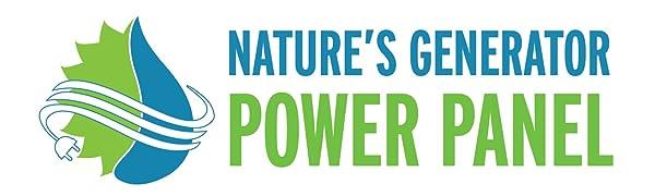 Nature's Generator Power Panel 100Watt solar panel