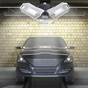 Amazon.com: Luces LED de garaje, activadas por movimiento ...