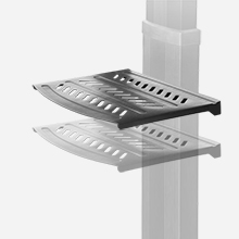 height adjustable av shelf
