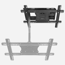 tv wall mount articulating arm