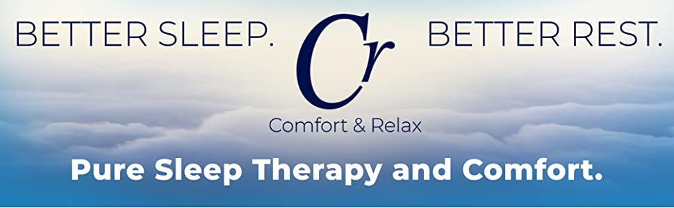 Cr Comfort & Relax Memory Foam Cooling Pillow