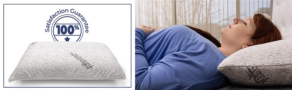 Cr Comfort & Relax Shredded Memory Foam Pillow