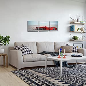 car living room decor