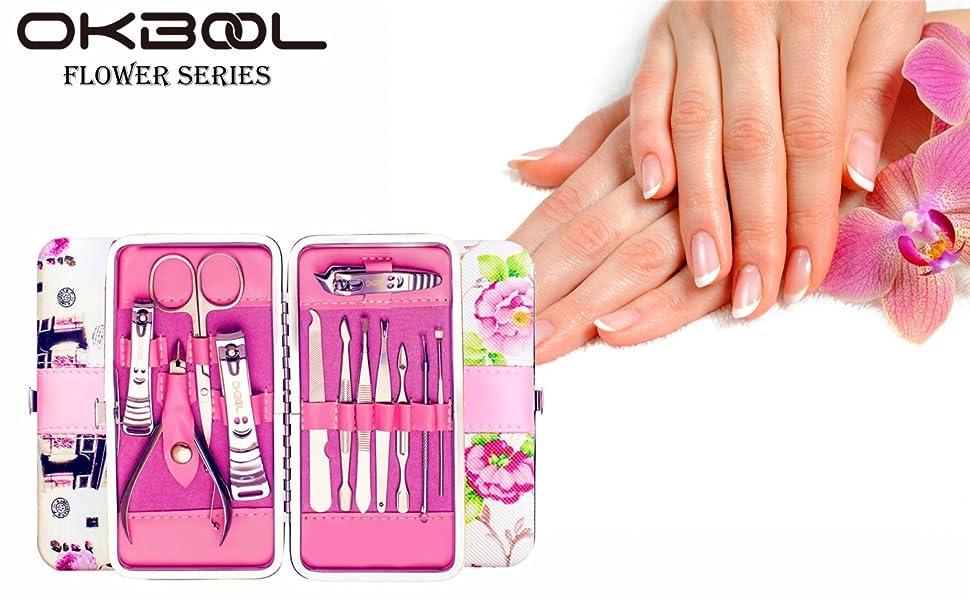 Amazon.com: Okbool - Juego de manicura y pedicura personal ...