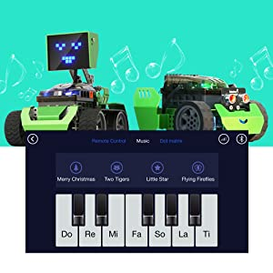 Robot DIY Mechanical Robotic Coding Kit for Kids Teens Educational Toy for Programming and Learning