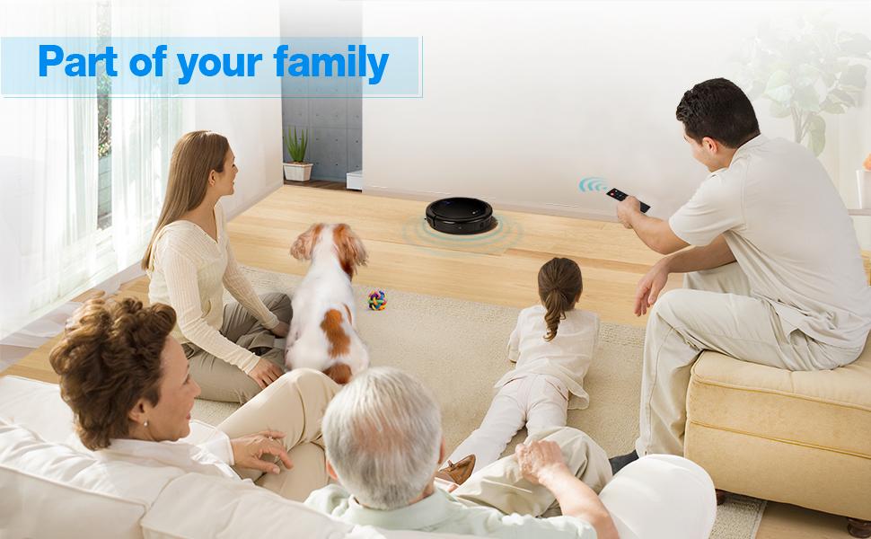 Amazon Com Ec Technology Robotic Vacuum Cleaner High