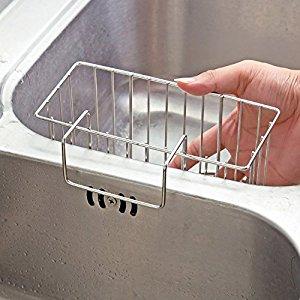 Amazon Com Aiduy Sponge Holder Sink Caddy Kitchen Brush