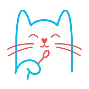 Cat swabbing