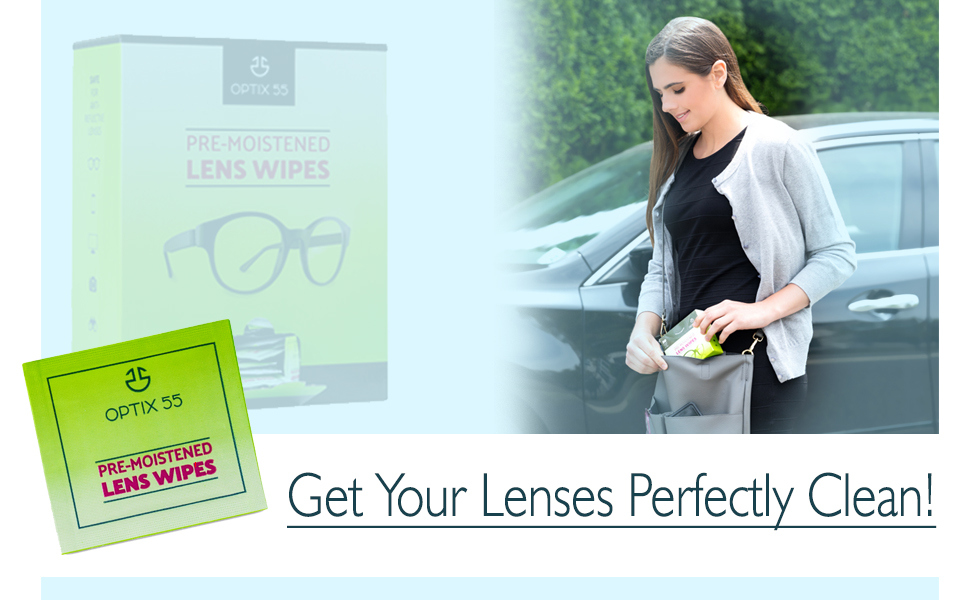 Eye glasses wipes will perfectly clean your lens
