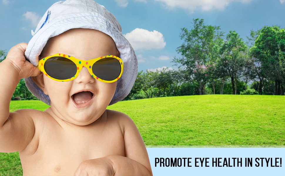 Safeguard your child's sensitive eyes with our sunglasses.
