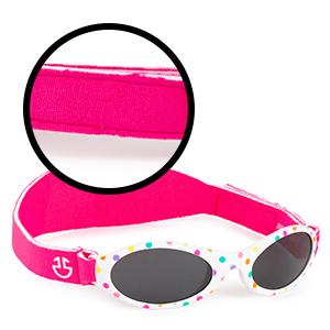 Carefully made pc smoke lenses reduce glare.