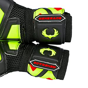 Renegade GK Talon Revolt 360 Degree Two Point Straps and Rubber Pull Tabs