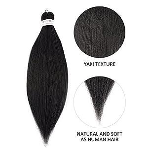 pre stretched braiding hair