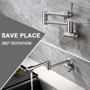 2 handles kitchen faucet