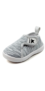 kids fashion casual sneakers first walker shoes grey